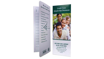 Numerous standard document folders already designed and ready for selection.