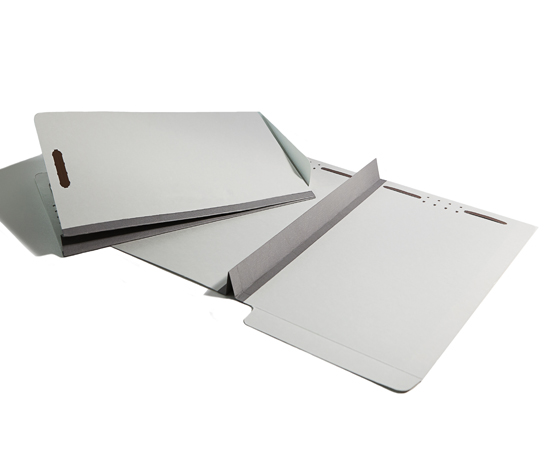 Classifile dividers, extra-large tyvek expansions, end tab for shelf filing, interior pockets and more.