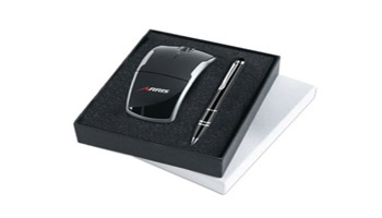 Give valued clients the latest in high- tech accessories and gadgets custom imprinted with your logo.