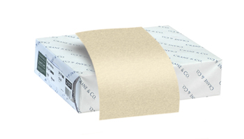 Huge inventory of bond papers available in 25%, 50% & 100& cotton content. All weights and sizes available.