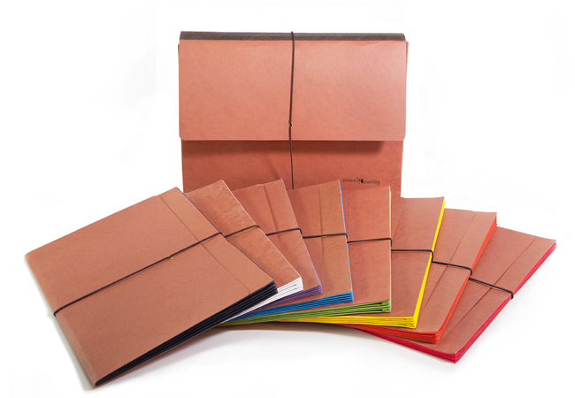 Available in 12 color-coded tyvek gussets. All standard and legal sizes available.