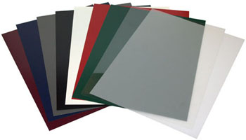 Large inventory of cover stocks in all weights, sizes and colors.