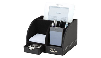 Encourage employees with unique desktop items custom imprinted with your logo.