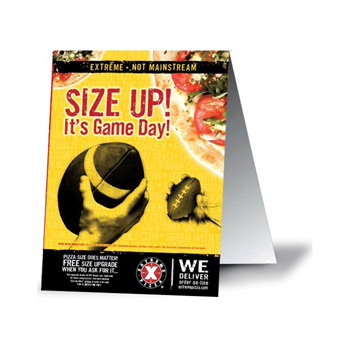 High quality and message-provoking flyers available in all colors and sizes.