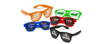 A custom imprinted item for sporting events and leisure activities, weddings, indoors or out.