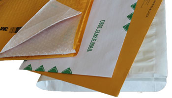 For mailing thick documents, proposals, bound material, binders, publications, books, certificates, fragile items and more.