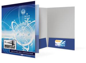9x12 pocket folders, legal size folders, reinforced edge folders, 3 panel folders, capacity folders, conformer folders and more.