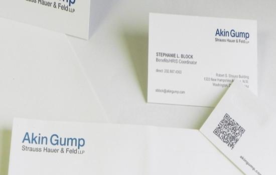 Akin Gump Stationery Stuie
